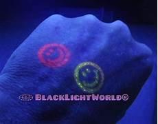 Black Light Stamp Pad Black Light World Invisible Ink Hand Stamping