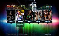 Music Html5 Template Music Hits Online Radio Html5 Template On Behance