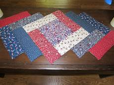 my patchwork quilt patriotic table runner