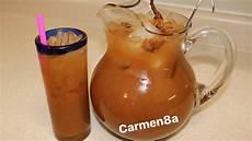 agua fresca de tamarindo fresco
