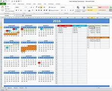 Making A Schedule In Excel How To Create Year And School Calendar With Dynamic Date
