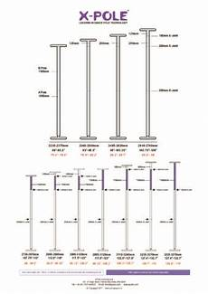 X Pole Extension Chart Sport Height Chart X Pole Us