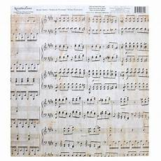 Music On Paper Music Notes Scrapbook Paper By Recollections 174