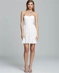 stuart dress strapless ruched sequin in white