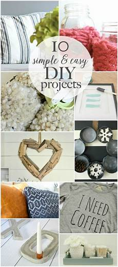simple and easy diy projects work it wednesday place