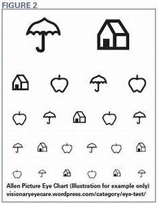Eye Test Chart For Toddlers 1000 Images About Functional Vision Testing On Pinterest