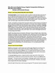 Essays Online To Read Why We Learn English Essay Vocabulary Reading Process