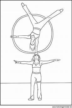 Ausmalbilder Zirkus Akrobaten Zirkus Akrobaten Gratis Ausmalbilder Und Malvorlagen
