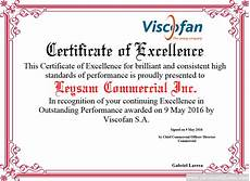 Product Performance Certificate Format Certificate Of Excellence Free Certificate Templates For