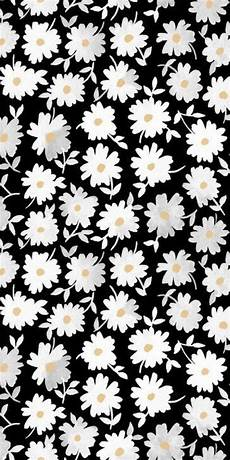 Modern Flower Wallpaper For Iphone by Print Pattern Modern Floral Monochrome Design