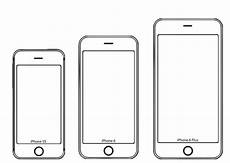 Printable Iphone 6 Case Template Test The Iphone 6 Screen Size Yourself With These Paper Models