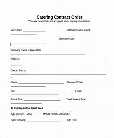 Catering Agreement Template 33 Contract Templates Word Docs Pages Free