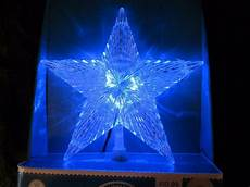 Large Light Up Star Tree Topper Led Light Up Color Changing Star Christmas Tree Topper New