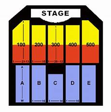 Borgata Theater Seating Chart The Borgata Event Center Seating Chart Ticket Solutions