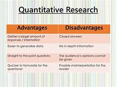 Advantages Of Quantitative Research Design Explanation Amp Justification Of Research Methods