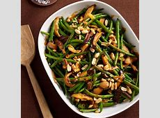 Green Bean Casserole with Red Curry and Peanuts Recipe