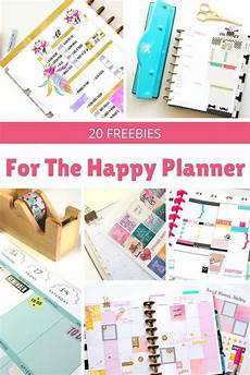 2019 Mini Happy Planner by 20 Awesome Happy Planner Free Printables Happy Planner