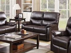 7282 reclining sofa in espresso faux leather w options