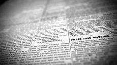 Parts Of A Newspaper Old Newspaper 4k Stock Footage Free Background Youtube