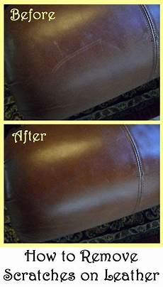 how to remove scratches on leather cleaning hacks diy