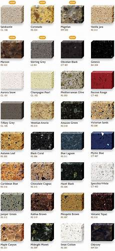 Granite Color Chart Granite Color Charts Hanstone Quartz Color Chart For