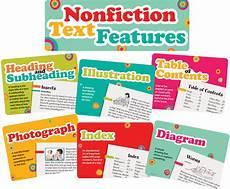 Amazon Nonfiction Charts Nonfiction Text Features Bulletin Board Display Set