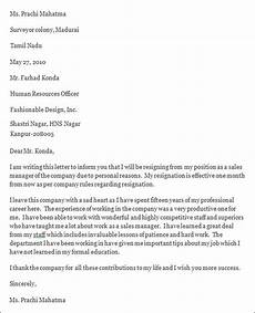 Resignation Letter It Professional Professional Resignation Letter Sample 4 Documents In