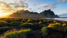 4k wallpaper nature for laptop black sand in iceland sunset vestrahorn batman