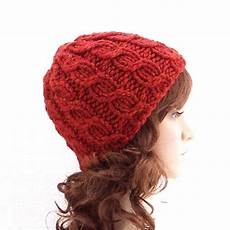 instant knitting hat pattern simple cable beanie