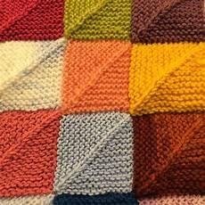 strickmuster restedecke stricken filzwolle stricken und
