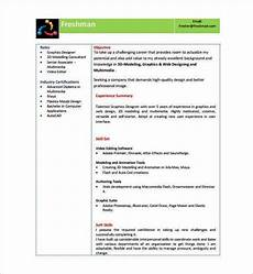 Attractive Resume Format For Freshers Cv Format For Freshers Pdf Download 10 Fresher Resume