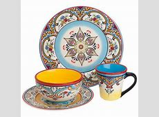 16 Piece Zanzibar Dinnerware Set   Cool dishes   Pinterest