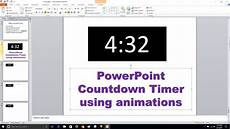 Digital Timer Powerpoint Powerpoint Countdown Timer Animation Youtube