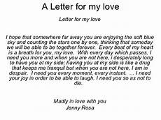 A Love Letter To My Husband A Letter For My Love