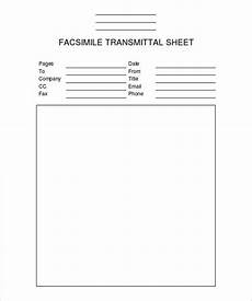 Fax Sheet Word Template Fax Cover Sheet Template 14 Free Word Pdf Documents