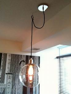 How To Hang A Pendant Light From Ceiling Creed How To Swag A Pendant