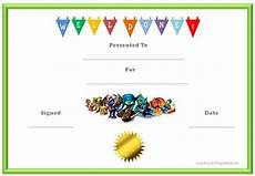 Free Certificate Template For Kids Skylanders Behavior Charts And Certificates