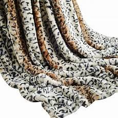 luxury soft blanket throw faux fur flannel fleece