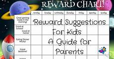 Reward Chart For Students Rewards For Kids Can Help With Behavior Modification Amp More