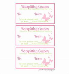 babysitting coupon templates 12 baby sitting coupon templates psd ai indesign