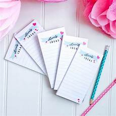 Notepad Designs Printed Notepads To Do List Lovely Ideas A Note From