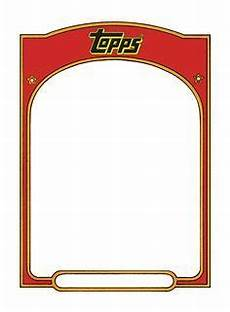 Baseball Card Templates Baseball Card Template Google Search Trading Card