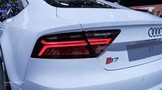 Audi Lights 2015 2015 Audi S7 Facelift Bows At Paris For The First Time