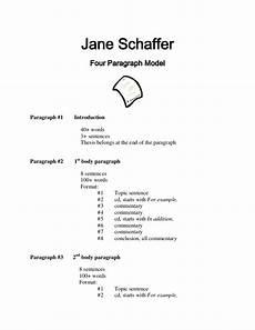 Schaffer Essay Format Schaffer