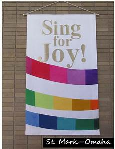 Diy Church Banners Sing For Joy Church Banner Used For Easter And Also At