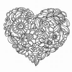 Ausmalbilder Erwachsene Herz Herz Ausmalbilder F 252 R Erwachsene Kostenlos Zum Ausdrucken 2