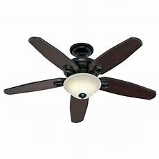 Hunter Fan Light Control Hunter 52 In Basque Black Ceiling Fan With Light Amp Remote
