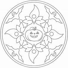 halloween mandala coloring pages free printable halloween mandala coloring pages 2