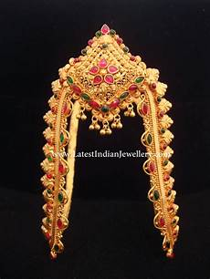 Arm Vanki Designs In Gold Traditional Gold Arm Band
