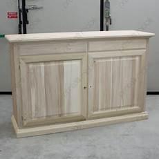 credenza in legno grezzo credenza grezza a due ante e due cassetti mod antoine